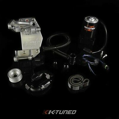 K-Tuned For Honda K-Series Water Plate Kit Inc Plate & Fittings  B/d Alternator