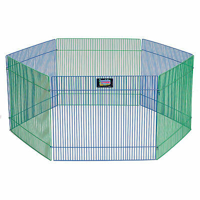 """Midwest Critterville Small Pets Playpen, 15"""" H"""