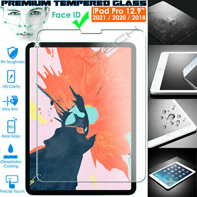 """100% Genuine TEMPERED GLASS Screen Protector for New Apple iPad Pro 12.9"""" 2018"""