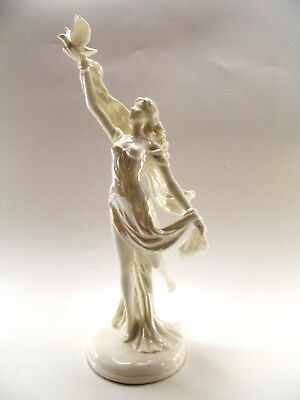 "Royal Worcester Figurine "" Spirit Of Peace "" Le For The Millennium Ref 245/1"