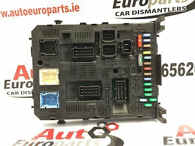 peugeot partner 2009-2016 fuse box - body ecu