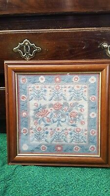 vintage tapestry looks like Eherman , completed and framed 1993