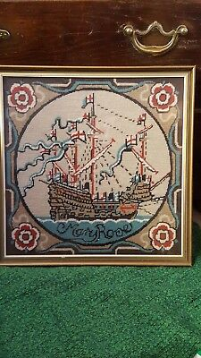vintage tapestry of the Mary Rose , 1983