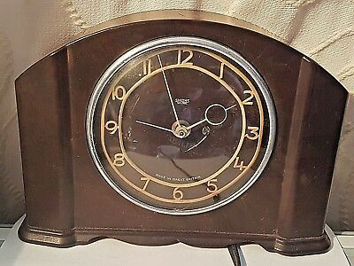 Vintage Smiths Sectric Mantel Electric Clock  working