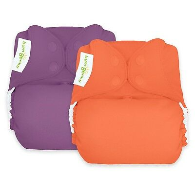 bumGenius Freetime All-In-One One-Size Snap Closure Cloth Diaper - Pick A Color!
