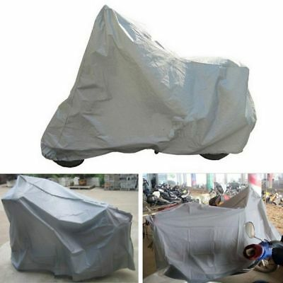 Motorcycle Cover Waterproof Bike Protector M Dust Rain Snow UV Outdoor Scooter
