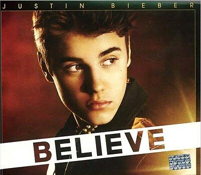 CD + DVD Set Believe Deluxe Edition Justin Bieber Sealed ! New ! 2012