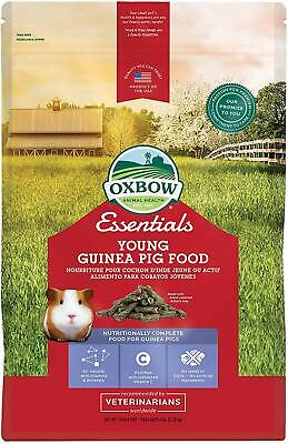 Oxbow Cavy Cuisine YOUNG Guinea Pig Food (ALFALFA Based) 5 Pound Bag