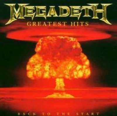 Greatest Hits Back To The Start - Megadeth CD Sealed ! New !