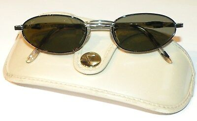 9a19ddfdc0 NOS Ray-Ban B L RITUALS OVAL SILVER   BLACK TORTOISE Sunglasses Vintage ...