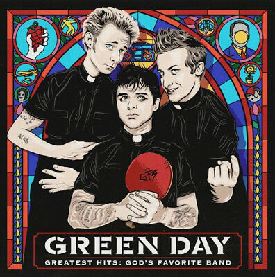 Greatest Hits God'S Favorite Band - Green Day CD Sealed ! New !