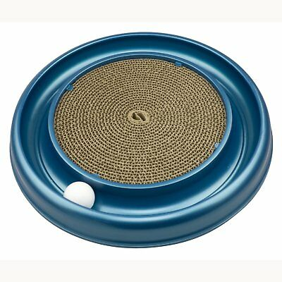 Bergan Turbo Scratcher Cat Toy | Round Ball Track and Cardboard Entertainment