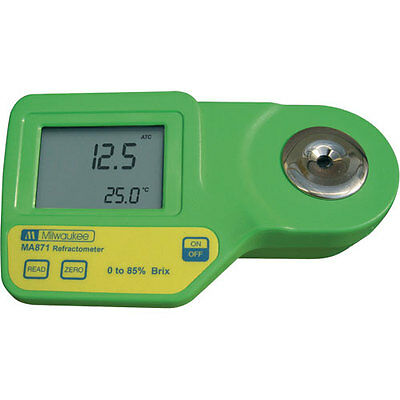 Milwaukee Instruments MA871 Brix Digital Brix Refractometer
