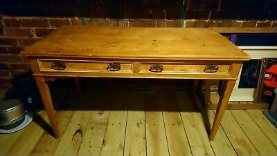 Antique Pine Desk - Collect Exeter