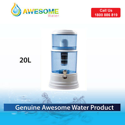 Genuine Awesome Water Bench top Purifier + 2 AS (Algae Shield) filters
