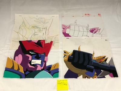 TRANSFORMERS JAPANESE BEAST WARS 2 GALVATRON ANIMATION ART CELL cel LOT 178