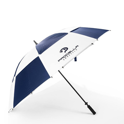 "Procella 68"" Golf Umbrella Windproof Waterproof Double Canopy Vented Folding UV"