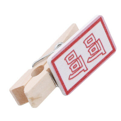 Wooden Clip Clamp Making Character Cat For Decor Photo Clothing Wedding D