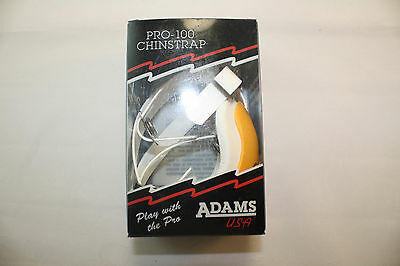 Adams USA Pro-25 Youth 4 Point Football Chin Strap New Red
