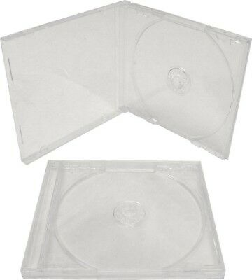 DVD CD Standard Clear Plastic Jewel Case 6 Pack