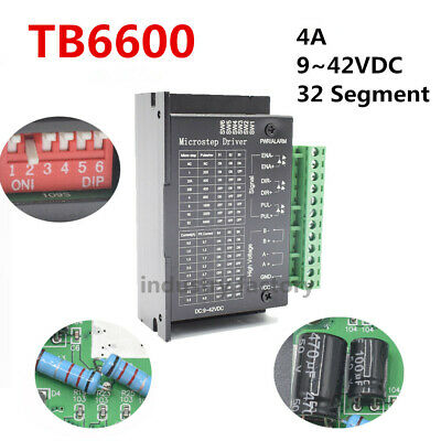 TB6600 Driver Single Axis 4A Stepper Motor Controller 9~42VDC CNC Drive Module