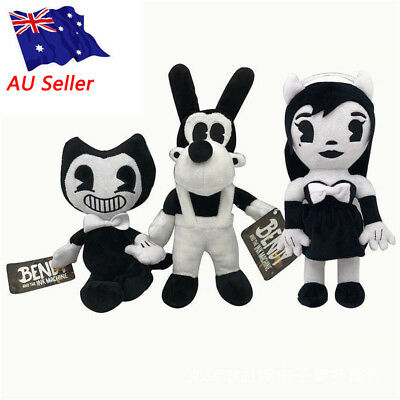 """12"""" Bendy And Boris the ink machine Plush Doll Figure Toys Doll For Kids GIFTS"""