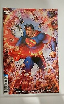 JUSTICE LEAGUE #7 JIM LEE color VARIANT cover Superman scott snyder first print