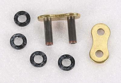 DID 520 VX2 Pro-Street Series ZJ X-Ring Rivet Master Connecting Link (Gold)