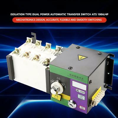 100A 400V Isolation Type 4P Dual Power Automatic Transfer Switch ATS 100A/4P Hot