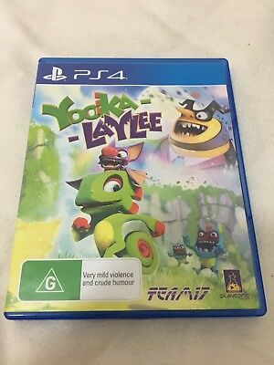 BRAND NEW UNSEALED, Yooka - Laylee, PS4 Game PlayStation 4