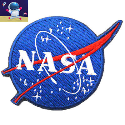 NASA Space Explorer Shuttle Astronaut Embroidered Hook & Loop Morale Patch