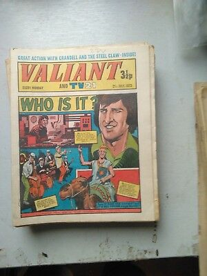 Valiant And Tv21  16 Issues 1973/4