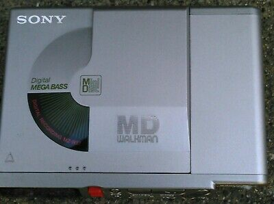 Sony MZ-R37 Portable Minidisc Player/Recorder. Refurbished by Sony/W/50 discs.