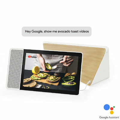 Smart Display Lenovo Snapdragon 10.1 Inch With Voice Control Google Assistant