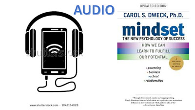 AUDIO Mindset THE NEW PSYCHOLOGY OF SUCCESS By Carol Dweck audio format not pdf