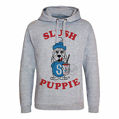 Mens Slush Puppy Hoodie Retro Vintage Classic 80's 90's Kids Childhood Womens