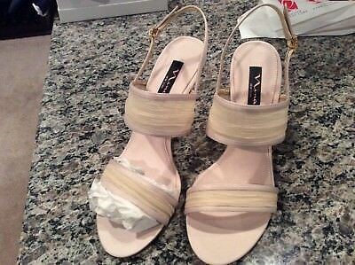 """Nina ivory, beige heels, 9 1/2"""" M, new, dress shoes, special occasion"""