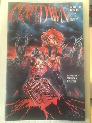 Cry For Dawn #1 (CFD April, 1989) 1st Print Linsner 1st Dawn