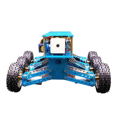 Arduino 6WD Cross-Country Car Tracking Search and Rescue Smart Robot Car Kit