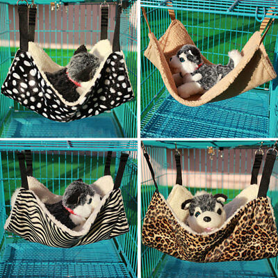 Cute Pet Polyester Cat Cage Hammock Small Pet Dog Puppy Bed Cover Bag Blankets
