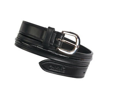 Caldene Belt Narva Crocodile Black