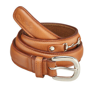 Caldene Belt Saran Leather Tan