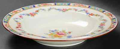 Minton MINTON ROSE (GLOBE BACKSTAMP). Rimmed Soup Bowl 6724022