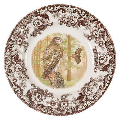 Spode WOODLAND Red Tail Hawk Dinner Plate 8593226