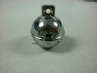 Santa's Reindeer Sleigh Bell Jingle Bell Chrome Solid Brass Quality Bell