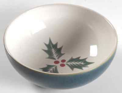 Denby Langley HARLEQUIN HOLLY GREEN Soup Cereal Bowl 6569531