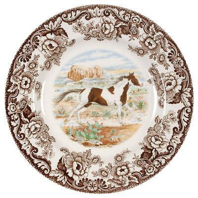 Spode WOODLAND Painted Dinner Plate 6559311