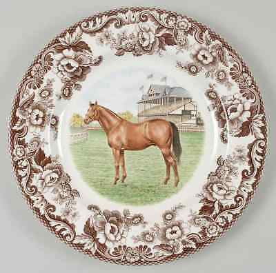 Spode WOODLAND Thoroughbred Dinner Plate 6559313