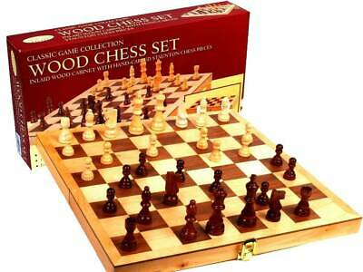 Wooden Chess Set 15in