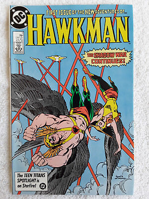 Hawkman #1 (Aug 1986, DC) VF+